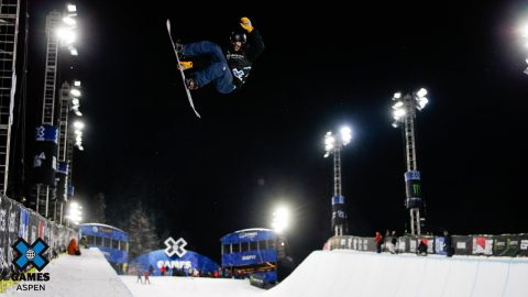 Jan Scherrer tops Monster Energy Men's Snowboard SuperPipe Elims | X Games Aspen 2020 | X Games