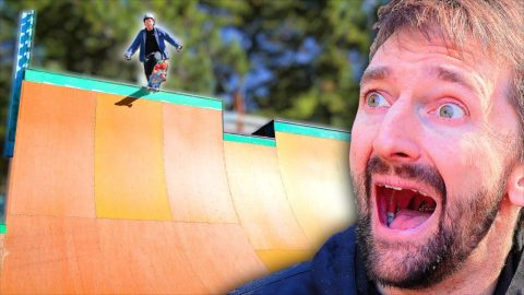 JASON DROPS IN ON VERT | Braille Skateboarding