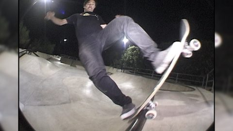 JASON PARK_BLUNT KICK FLIP REWIND_EXCLUSIVE BACKYARD SKATEPARK! | A Happy Medium Skateboarding
