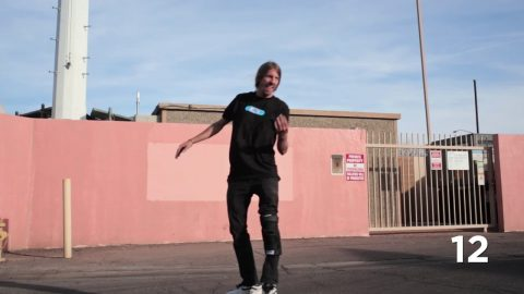 Jaws Ollies Off 28 Roofs In One Day - CCS