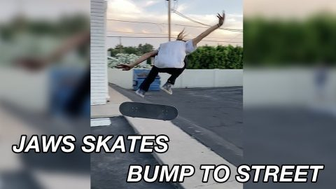 JAWS SKATES BUMP TO STREET | A Happy Medium Skateboarding