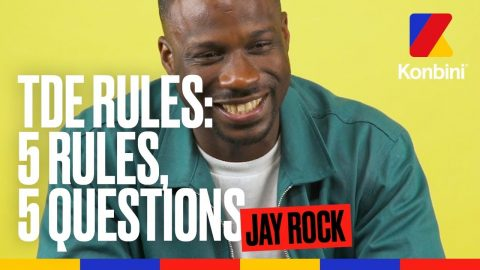 Jay Rock - TDE Rules | Konbini