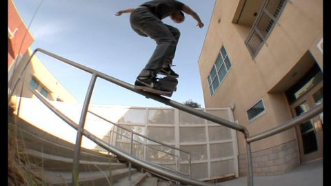 Jayden Bono fs Nose Blunt Raw Cut | E. Clavel