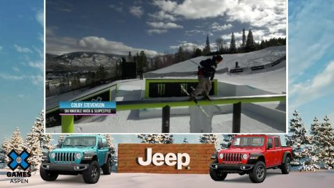 JEEP BEST IN SNOW AWARD: Colby Stevenson | X Games Aspen 2020 | X Games