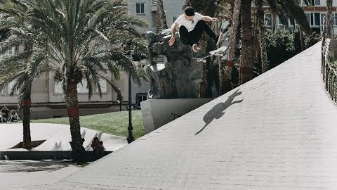 JEFFREY LUQUE - NO SLEEP PART | Nomadskateboards