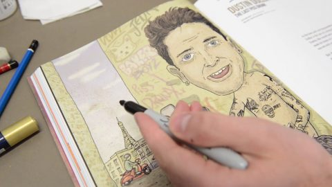 JENKEM - Defacing Vol. 2 w/ our lazy illustrator - jenkemmag