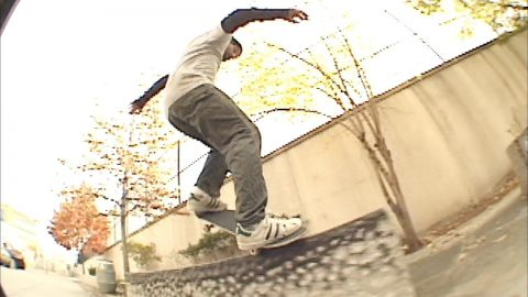 "JENKEM - Luke Malaney In Traffic Skateboards ""Look Left"" - jenkemmag"