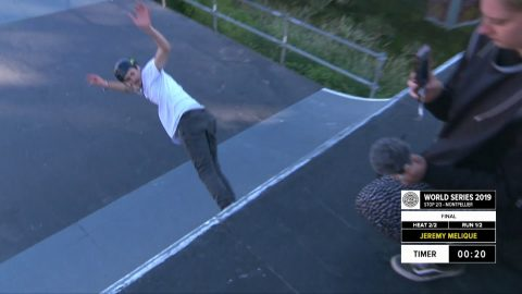 Jeremy Melique | 1st place - WS Roller Freestyle Park World Cup Final | FISE Montpellier 2019 | FISE