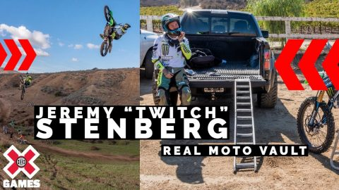 "Jeremy ""Twitch"" Stenberg: REAL MOTO THROWBACK 
