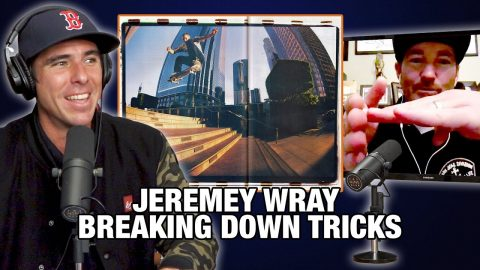 Jeremy Wray Breaks Down Some Of His Most Memorable Tricks | Nine Club Highlights