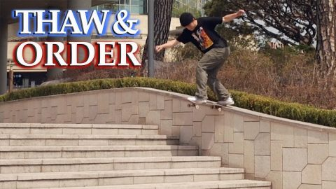 "Jesse Vieira's ""Thaw and Order"" Part - ThrasherMagazine"