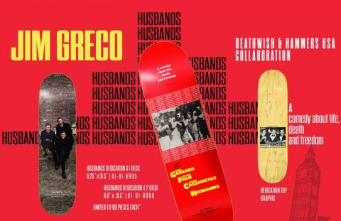 "Jim Greco ""Husbands"" Dedication Deck - Joey Sinko"