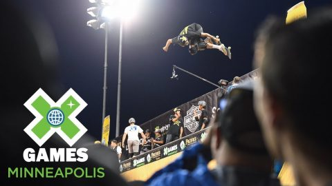Jimmy Wilkins wins Skateboard Vert gold | X Games Minneapolis 2018 | X Games