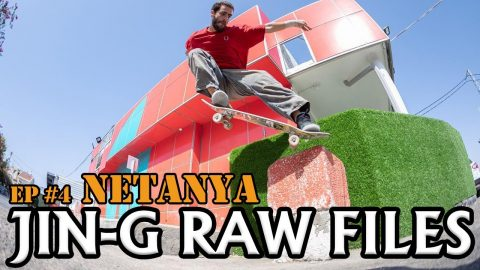 JIN-G RAW FILES | Ep #4 Netanya - נתניה | ג'ינג'י Jin-G
