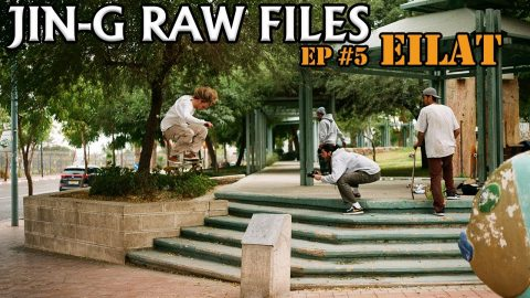JIN-G RAW FILES | Ep #5 Eilat - אילת | ג'ינג'י Jin-G