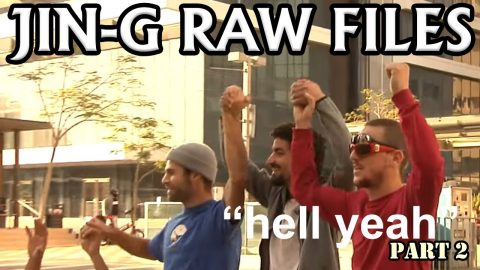 JIN-G RAW FILES   Ep #9 HELL YEAH Part 2   ג'ינג'י Jin-G