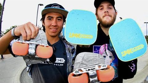 JMK FREE SKATES AT THE SKATEPARK!?! | Braille Skateboarding