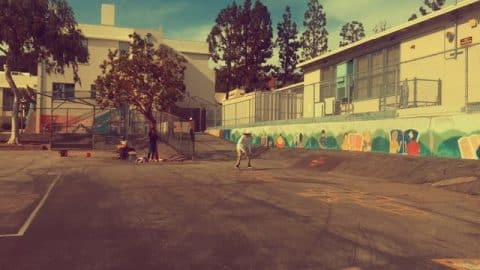 Joan Galceran  Cali schoolyards! - Vimeo / FaveLA skateboarding media's videos