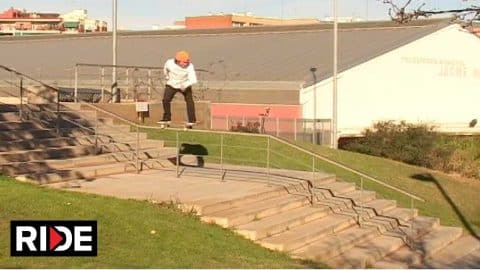 Joan Galceran - Jart Skateboards #TOWNTAPES Part - RIDE Channel