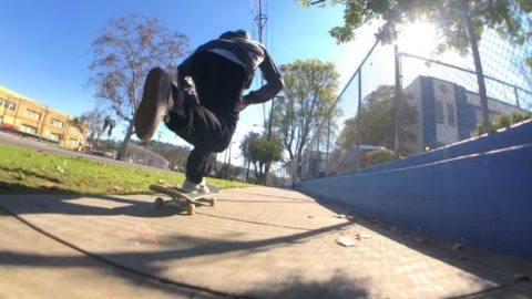 João Criscuolo  Blue skies & blue ledges - Vimeo / FaveLA skateboarding media's videos