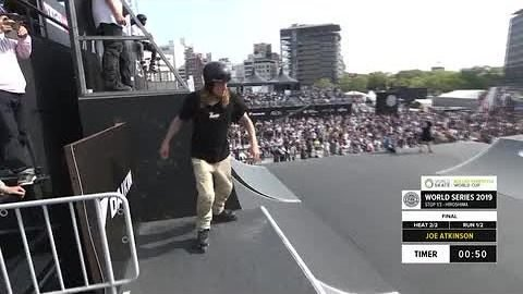Joe Atkinson | 1st place - WS Roller Freestyle World Cup Final | FISE Hiroshima 2019 | FISE