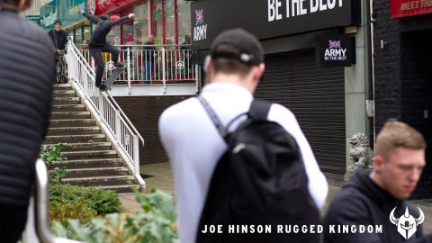 JOE HINSON - RUGGED KINGDOM | Darkstar Skateboards