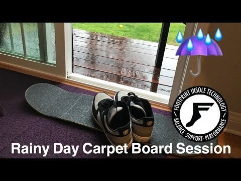 Joey Brezinski Rainy Day Carpet Boarding. - Joey Brezinski