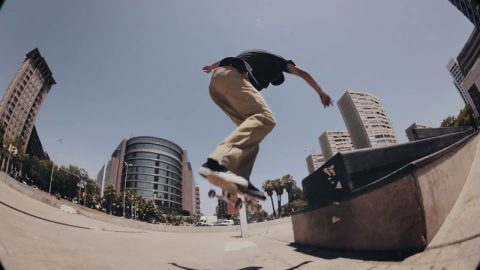 Joey Guevara in Barcelona - AtlasSkateboarding