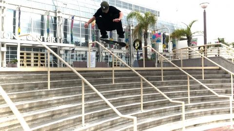 JOHN BRADFORD AND EVEN POPS SHRED LONG BEACH !!! - NKA VIDS - | Nka Vids Skateboarding
