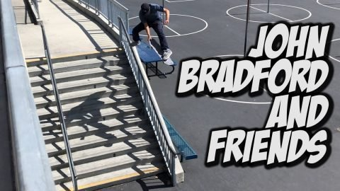 JOHN BRADFORD AND FRIENDS KILL EVERYTHING !!! - NKA VIDS - | Nka Vids Skateboarding