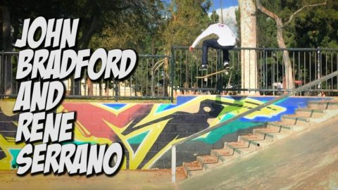 JOHN BRADFORD AND RENE SERRANO KILL THE PARKS !!! - A DAY WITH NKA - - Nka Vids