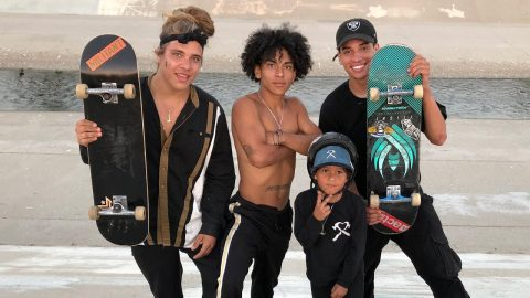 JOHN BRADFORD AND THE CASH CREW SKATE WITH LIL ZACH !!! - NKA VIDS - | Nka Vids Skateboarding