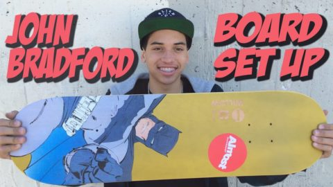 JOHN BRADFORD BOARD SET UP AND INTERVIEW !!! - Nka Vids