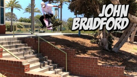 JOHN BRADFORD SKATING IN THE STREET AND MORE !!! - NKA VIDS - | Nka Vids Skateboarding