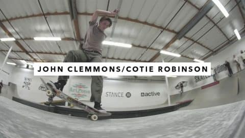 John Clemmons and Cotie Robinson | TransWorld SKATEboarding - TransWorld SKATEboarding