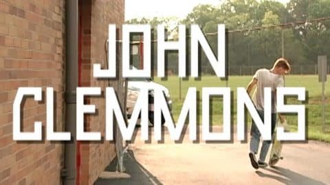 John Clemmons Hulkripps 2 Part | TransWorld SKATEboarding - TransWorld SKATEboarding
