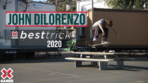 John Dilorenzo: REAL STREET BEST TRICK 2020 | World of X Games | X Games