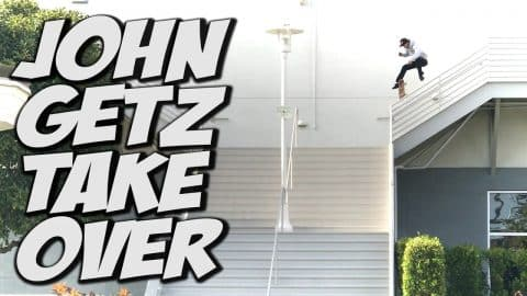 JOHN GETZ CHANNEL TAKE OVER !!! - A DAY WITH NKA - - Nka Vids Skateboarding