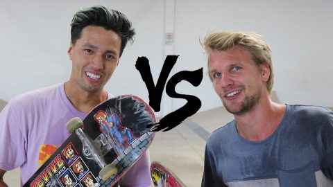 JOHN HILL VS FABIAN DOERIG S K A T E | BATTLE OF THE GREATS! - Braille Skateboarding