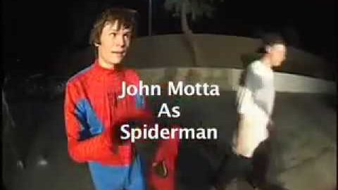 JOHN MOTTA as SPIDERMAN | A Happy Medium Skateboarding