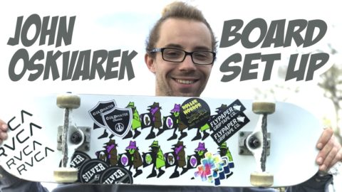 JOHN OSKVAREK STREET PART & BOARDSET UP !!!! - Nka Vids Skateboarding