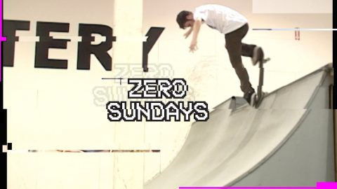 John Rattray 10 tricks from 2009 | Zero Sundays - ep 11 | Zero Skateboards