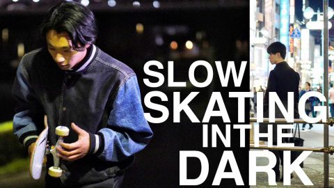JOJI - SLOW DANCING IN THE DARK | TOKYO NIGHTS SKATE EDIT | Luis Mora