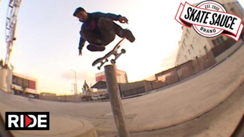 Jonas Daater x Skate Sauce Part - RIDE Channel