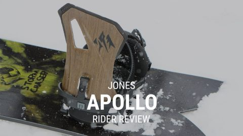 Jones Apollo 2019 Snowboard Binding Rider Review - Tactics.com - Tactics Boardshop