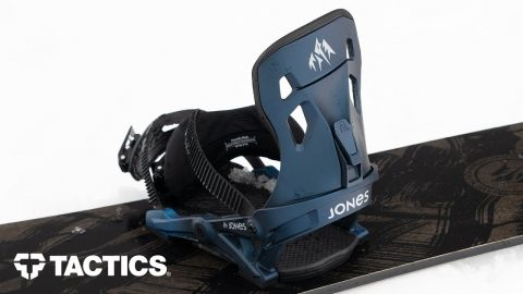 Jones Mercury 2020 Snowboard Binding Rider Review - Tactics | Tactics Boardshop