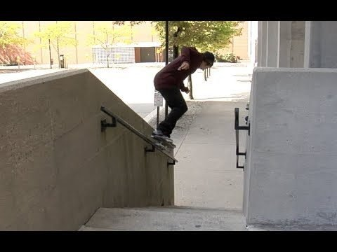 Jordan Grace bs Grind Wall Rail Raw Cut - E. Clavel