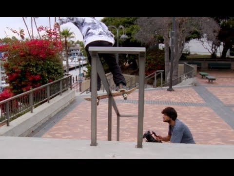 Jordan Maxham Boardslide Pop Out Bear Trap Rail Raw Uncut - E. Clavel