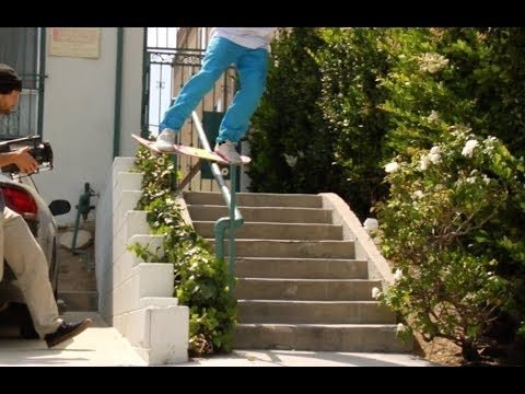 Jordan Maxham Boardslide Pop Out Before Skate Stopper Raw Uncut - E. Clavel