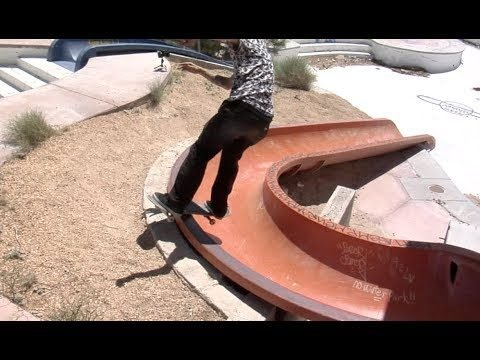 Jordan Maxham Boardslide Water Slide Raw Uncut - E. Clavel